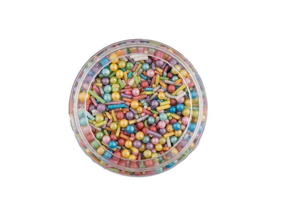 Perles  multicolor