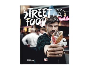 Medium streetfood book covere shop